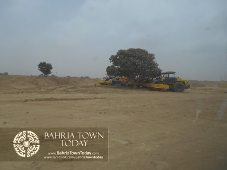 Bahria Town Karachi Latest Progress Update - June 2014 (85)