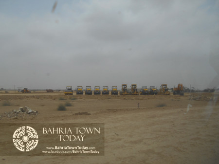 Bahria Town Karachi Latest Progress Update - June 2014 (88)