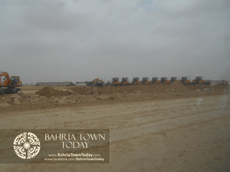 Bahria Town Karachi Latest Progress Update - June 2014 (89)