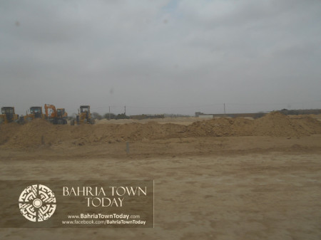 Bahria Town Karachi Latest Progress Update - June 2014 (90)