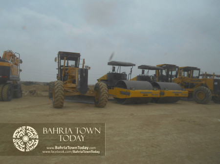 Bahria Town Karachi Latest Progress Update - June 2014 (92)