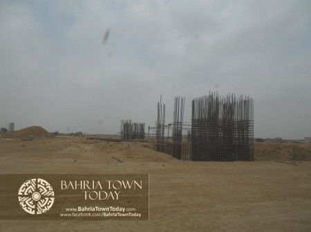 Bahria Town Karachi Latest Progress Update - June 2014 (94)