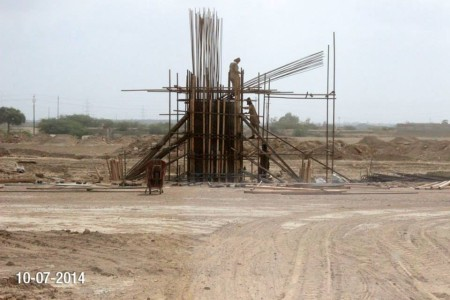 Bahria Town Karachi Latest Progress Update - July 2014 (4)