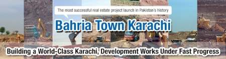 100 Days of Bahria Town Karachi Development