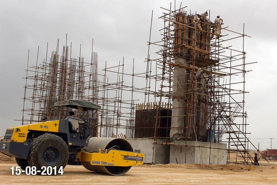 Bahria Town Karachi Latest Progress Update – August 2014 (11)