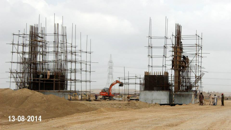Bahria Town Karachi Latest Progress Update – August 2014 (4)