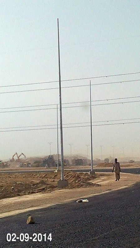 Bahria Town Karachi Latest Progress Update - September 2014 (11)