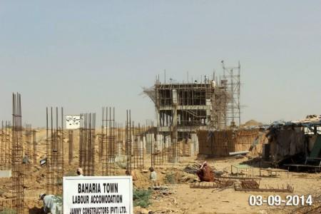 Bahria Town Karachi Latest Progress Update - September 2014 (4)