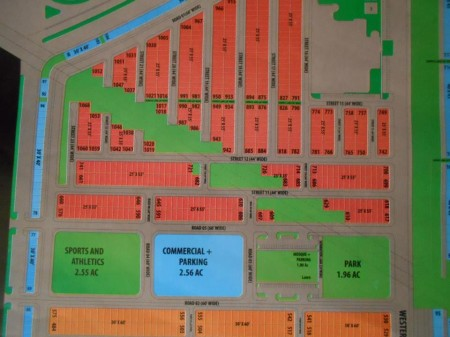 Bahria Town Karachi - Master Plan of Bahria Homes (Quaid Block) Map (4)