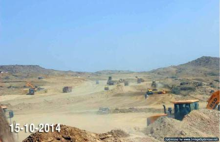 Bahria Town Karachi Latest Progress Update - October 2014 (11)