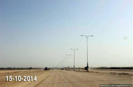 Bahria Town Karachi Latest Progress Update - October 2014 (7)