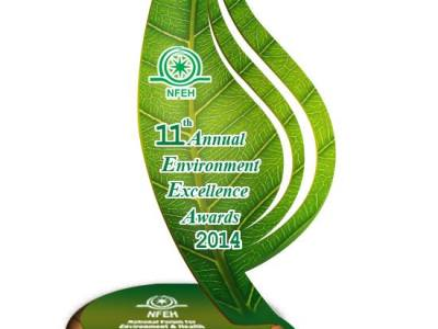 Bahria Town Wins 11th Annual Environment Excellence Award 2014