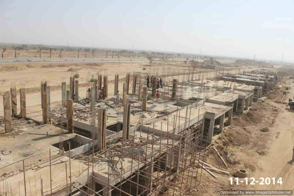 Bahria Town Karachi Latest Progress Update – December 2014 (1)
