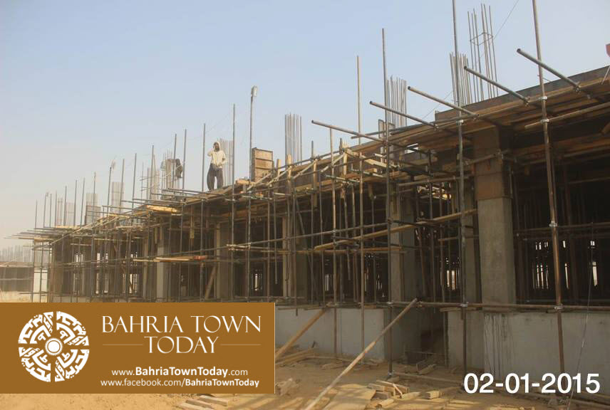 Bahria Town Karachi Latest Progress Update – January 2015 (1)