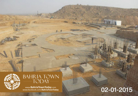 Bahria Town Karachi Latest Progress Update - January 2015 (10)