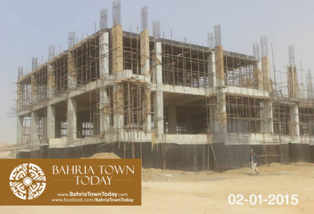Bahria Town Karachi Latest Progress Update - January 2015 (13)
