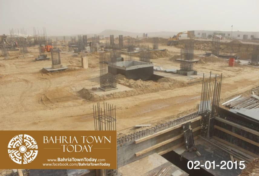 Bahria Town Karachi Latest Progress Update – January 2015 (14)