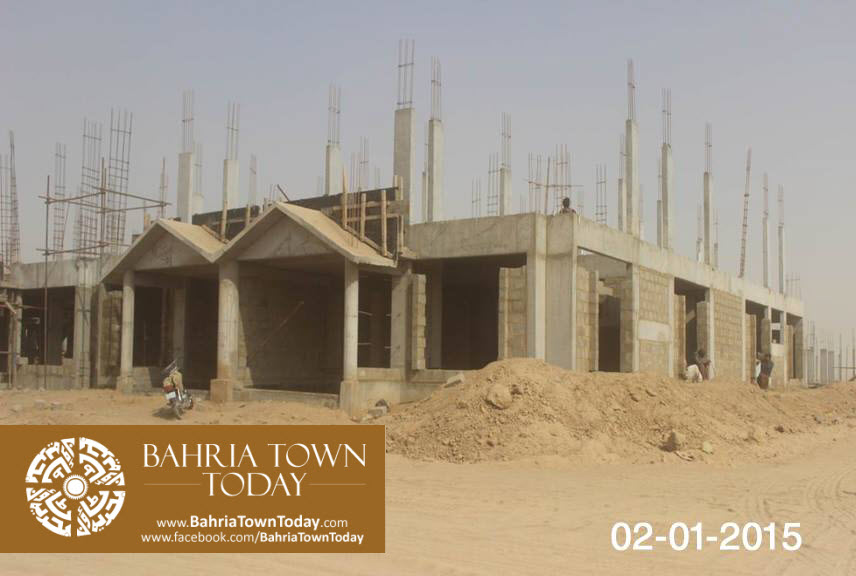Bahria Town Karachi Latest Progress Update – January 2015 (2)