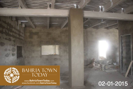 Bahria Town Karachi Latest Progress Update - January 2015 (3)