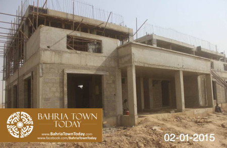 Bahria Town Karachi Latest Progress Update - January 2015 (6)