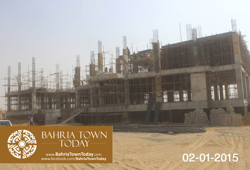 Bahria Town Karachi Latest Progress Update – January 2015 (7)