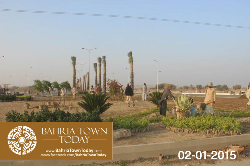 Bahria Town Karachi Latest Progress Update – January 2015 (8)