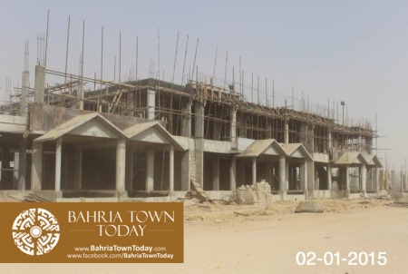 Bahria Town Karachi Latest Progress Update - January 2015 (9)