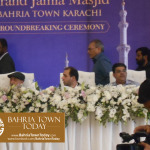 Ground Breaking Ceremony of The Grand Mosque – Bahria Town Karachi