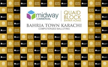 Computerized Balloting of Mid-Way Commercial and Quaid Villas on 23rd January 2015