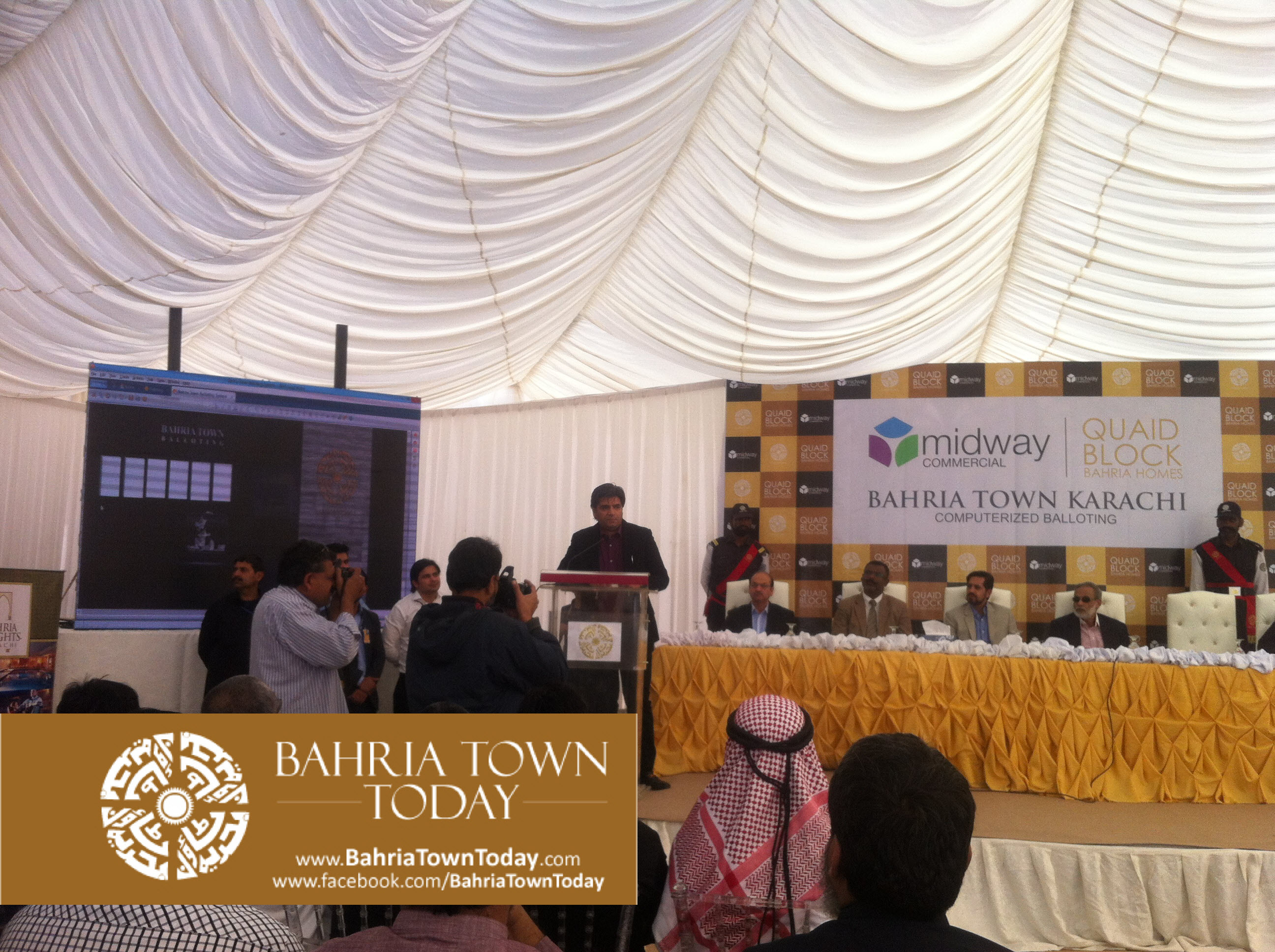 [Pictures] Computerized Balloting of Mid-Way Commercial and Quaid Villas 2015 (14)