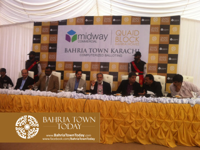 [Pictures] Computerized Balloting of Mid-Way Commercial and Quaid Villas