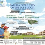 Bahria Town Karachi Launches Bahria Golf City Karachi (Overseas Block)