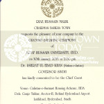 [Invitation] Ground Breaking Ceremony of Altaf Hussain University, Bahria Town Hyderabad