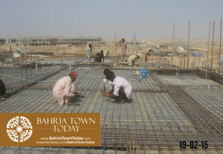 Bahria Town Karachi Latest Progress Update - February 2015 (1)