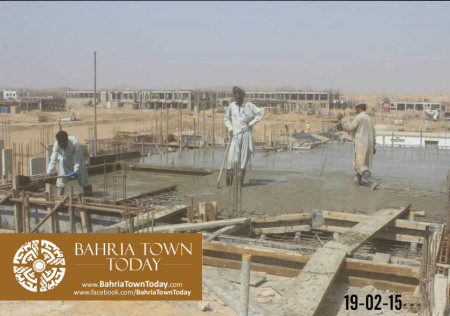 Bahria Town Karachi Latest Progress Update - February 2015 (11)