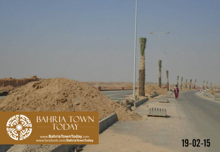 Bahria Town Karachi Latest Progress Update - February 2015 (17)