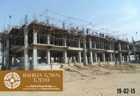 Bahria Town Karachi Latest Progress Update - February 2015 (2)