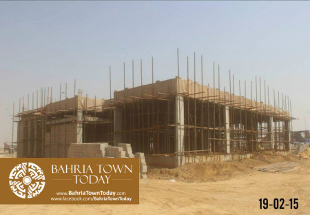 Bahria Town Karachi Latest Progress Update - February 2015 (21)