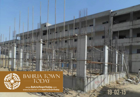 Bahria Town Karachi Latest Progress Update - February 2015 (22)