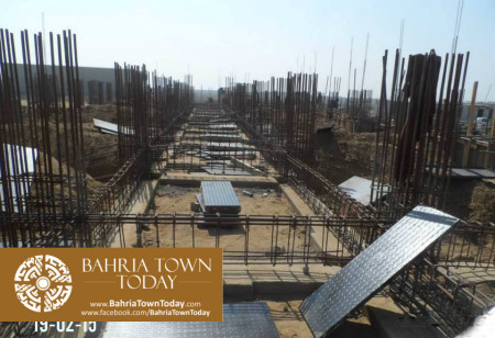 Bahria Town Karachi Latest Progress Update - February 2015 (26)