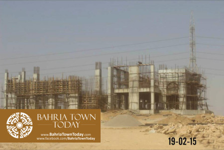 Bahria Town Karachi Latest Progress Update - February 2015 (27)