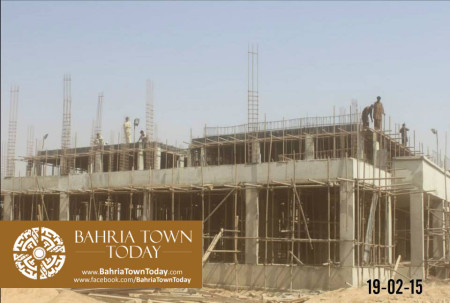 Bahria Town Karachi Latest Progress Update - February 2015 (28)