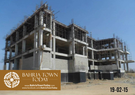 Bahria Town Karachi Latest Progress Update - February 2015 (29)