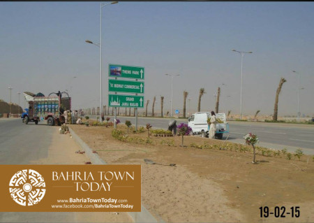 Bahria Town Karachi Latest Progress Update - February 2015 (3)