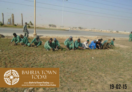 Bahria Town Karachi Latest Progress Update - February 2015 (32)