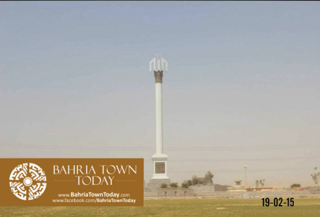 Bahria Town Karachi Latest Progress Update - February 2015 (33)