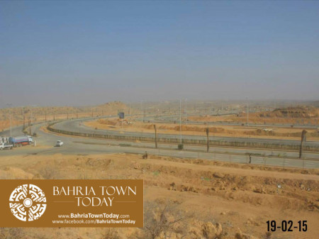 Bahria Town Karachi Latest Progress Update - February 2015 (6)