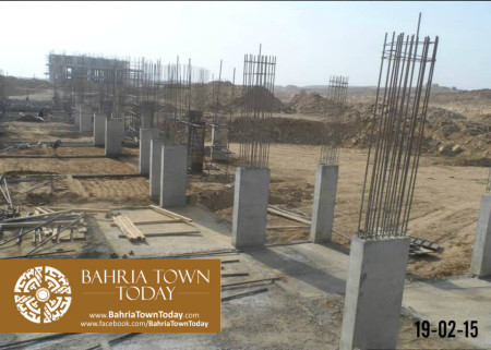 Bahria Town Karachi Latest Progress Update - February 2015 (7)