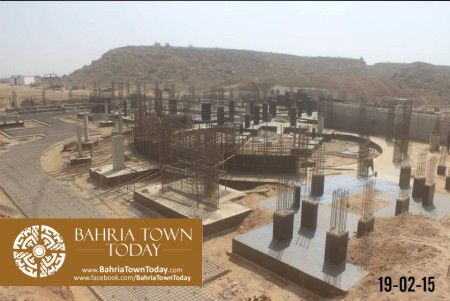 Bahria Town Karachi Latest Progress Update - February 2015 (8)