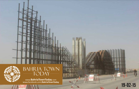 Bahria Town Karachi Latest Progress Update - February 2015 (9)